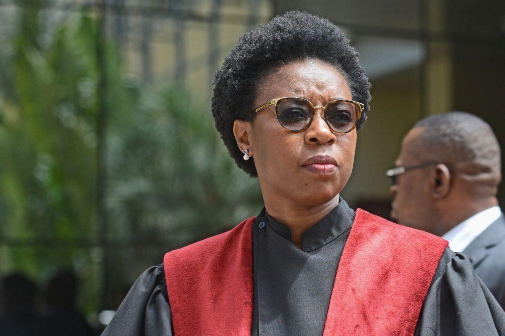 PGR moçambicana vai quarta-feira ao parlamento falar sobre controlo da legalidade no país
