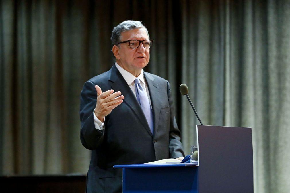 Novo Banco: Durão Barroso não se reuniu com Passos Coelho sobre BES/GES