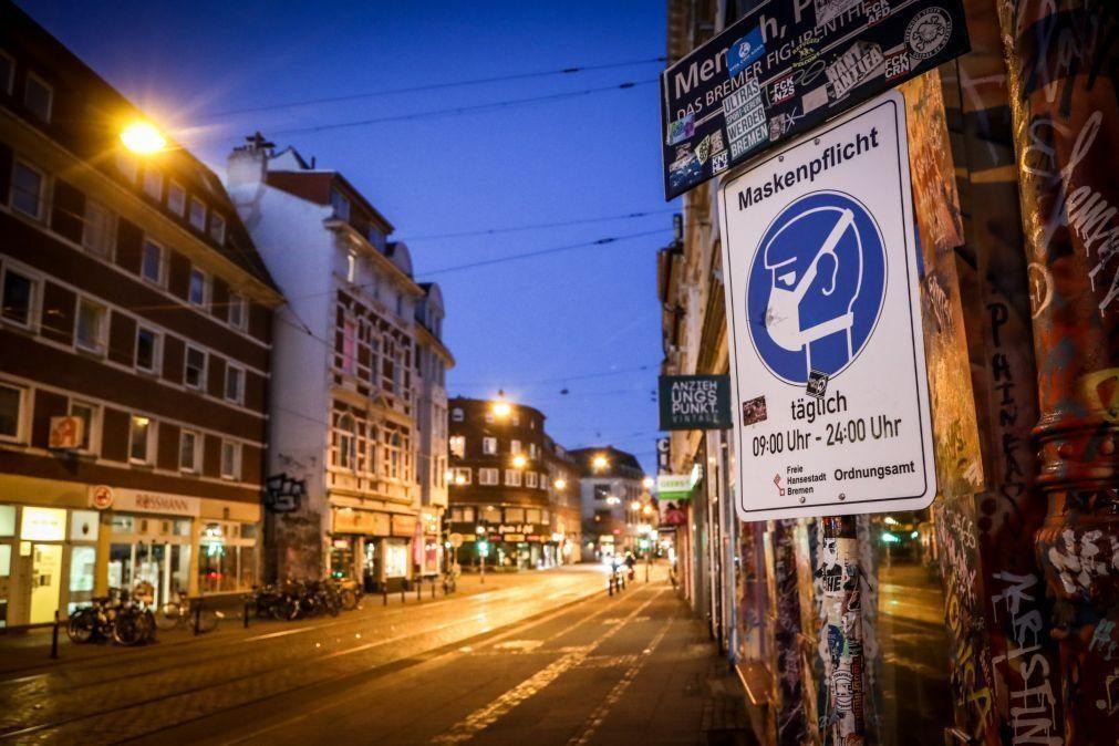 Covid-19: Alemanha regista ligeira descida da incidência semanal