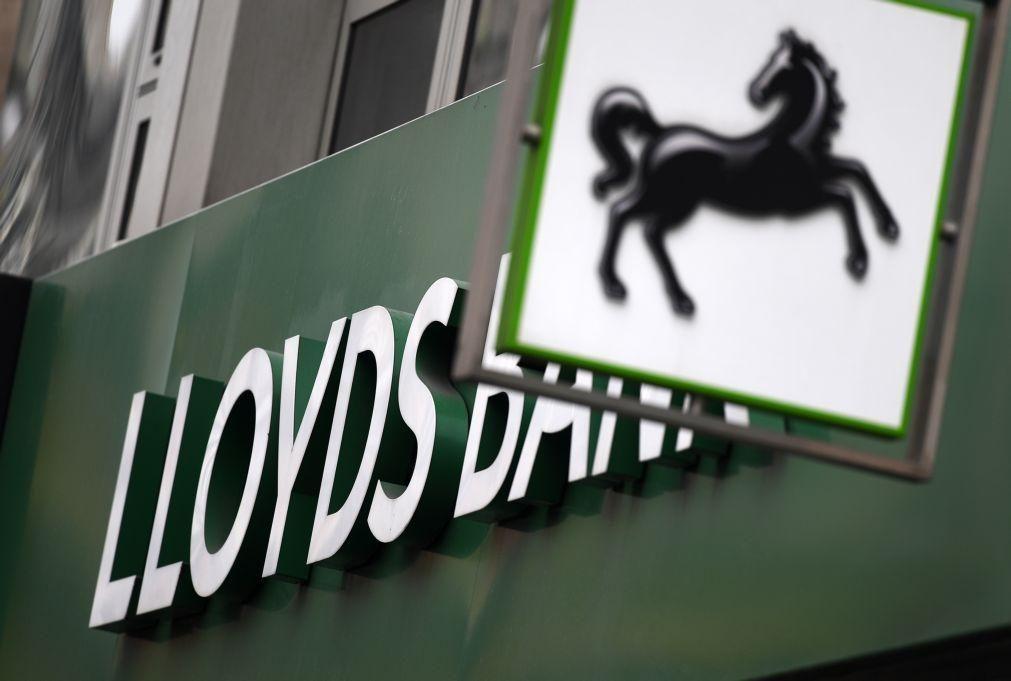 Lloyds Bank obtém lucro líquido de 1.606 ME no 1.º trimestre, mais 191%