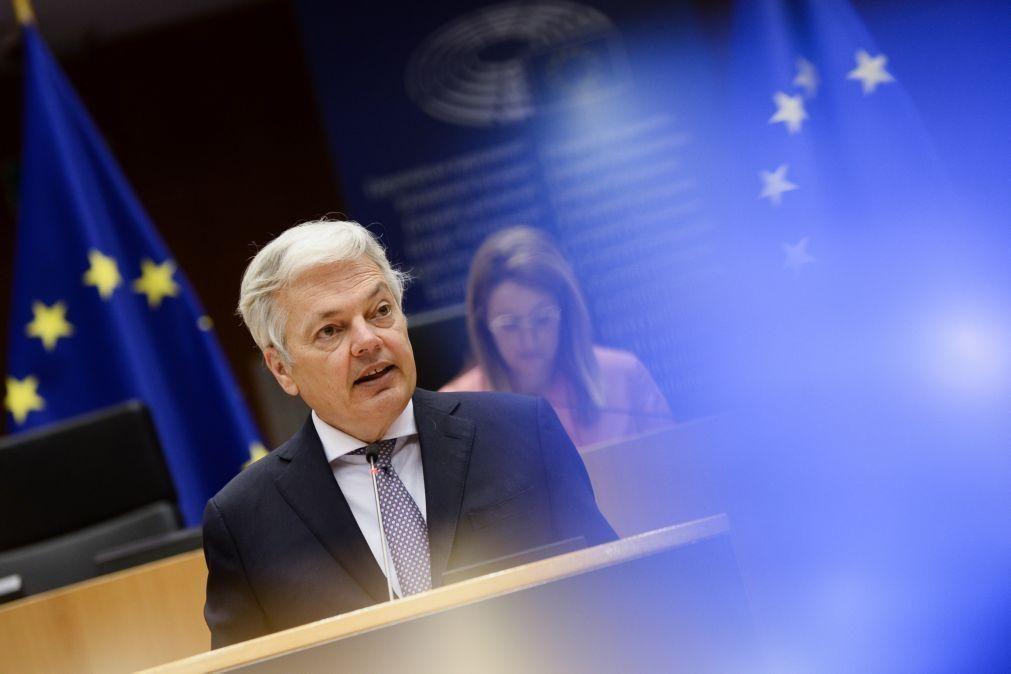 UE/Presidência: Bruxelas quer dar