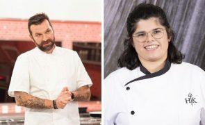 Após vencer o Hell's Kitchen, Francisca Dias trabalha com Ljubomir Stanisic