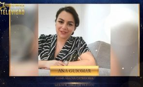 Ana Guiomar agradece nomeação nos Troféus Impala de Televisão [vídeo]