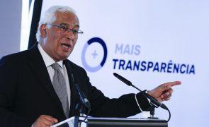 UE/Presidência: Costa anuncia reunião para aprovação dos primeiros PRR em 18 de junho