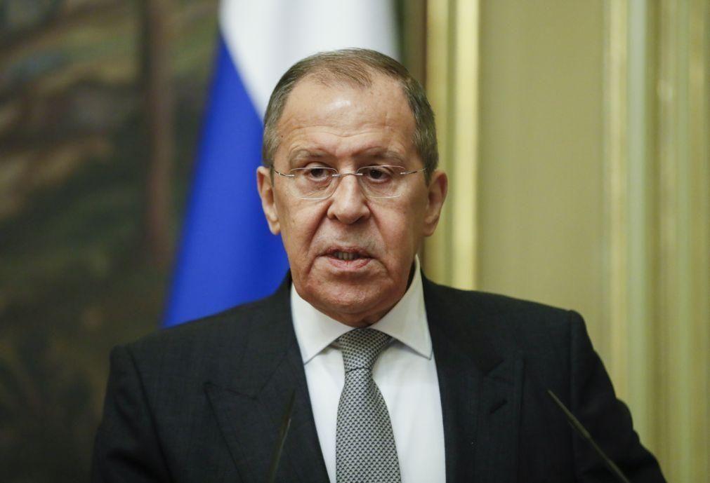 Rússia anuncia publicação de lista de