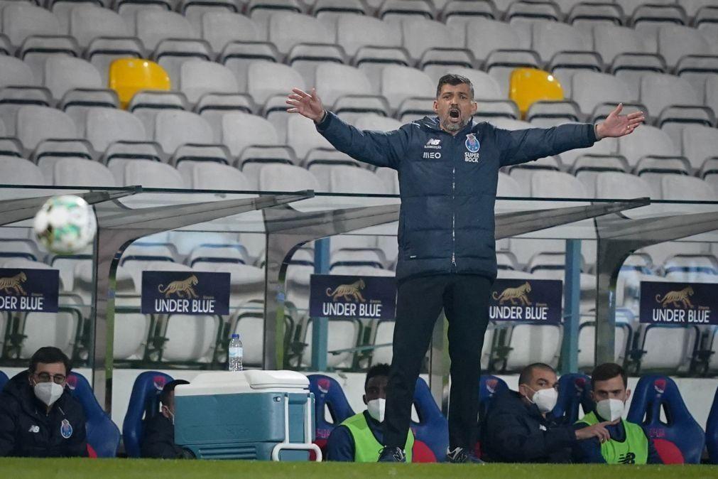 Sérgio Conceição suspenso por 21 dias. Falha quatro jogos do FC Porto
