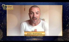 João Baptista agradece a Troféus Impala de Televisão: «Estou muito grato»