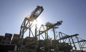 Movimento de carga nos portos cai 4,2% em janeiro e fevereiro para 13,65 mil toneladas