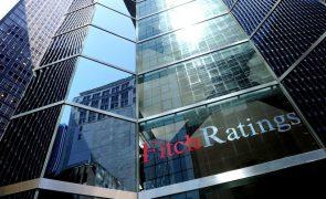 Fitch prevê perspetiva 'estável' do 'rating' 'BBB' para Portugal