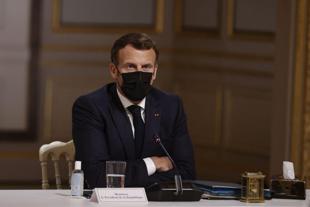 Covid-19: Macron anuncia quatro fases de desconfinamento até 30 de junho