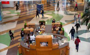 Centros comerciais tiveram queda de 25,6% nas vendas na primeira semana da reabertura