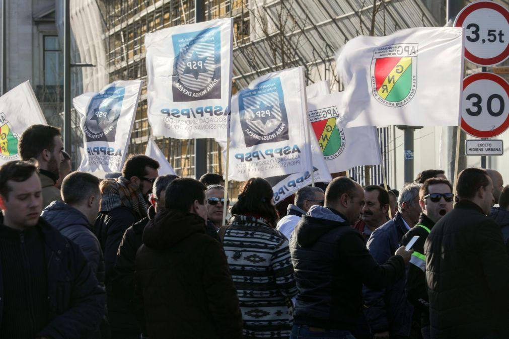 Sindicato da PSP e associação da GNR defendem subsídio de risco a rondar os 380 euros