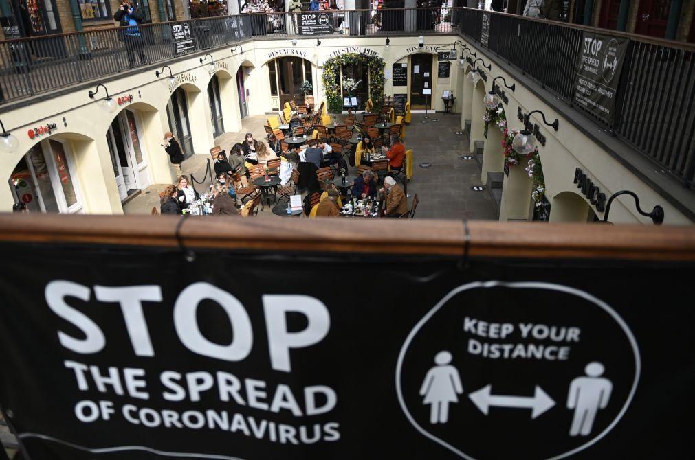 Covid-19: Reino Unido registou 22 mortes com tendência a estabilizar