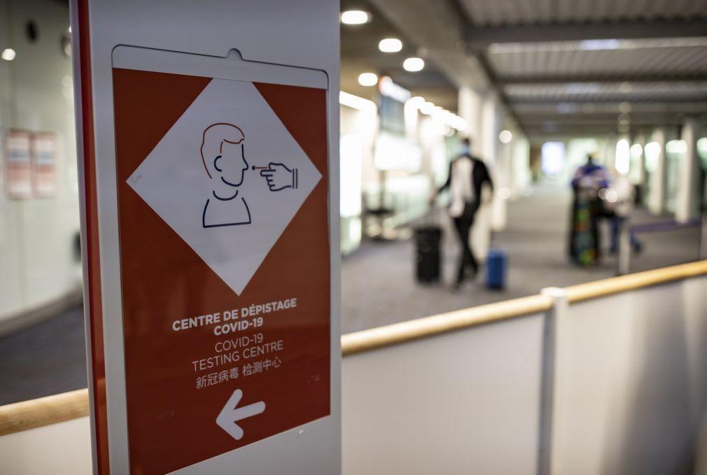 Covid-19: França identifica primeiro caso de variante originária da Índia