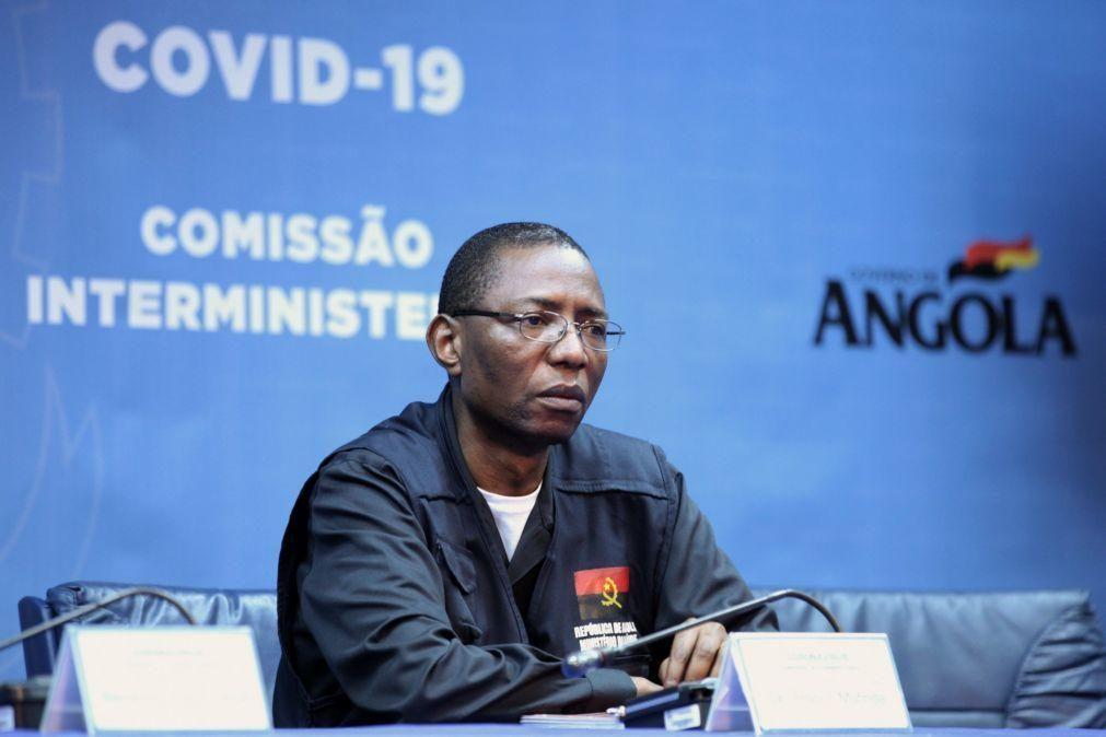 Covid-19: Angola anuncia 263 novos casos, novo pico nos últimos seis meses