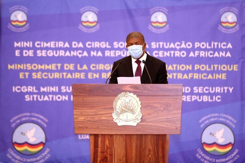 Presidente angolano defende continuidade nas negociações de reescalonamento das dívidas