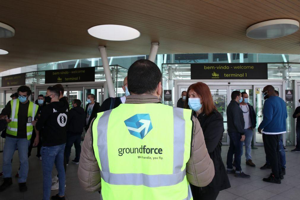 Groundforce quer levantar excedente de 3 ME do fundo de pensões para pagar subsídios de férias