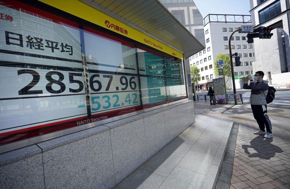 Bolsa de Tóquio abre a perder 0,34%