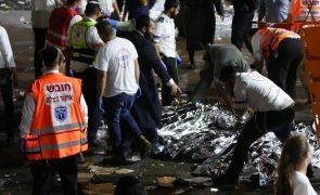 Pelo menos 44 mortos em peregrinação judaica em Israel