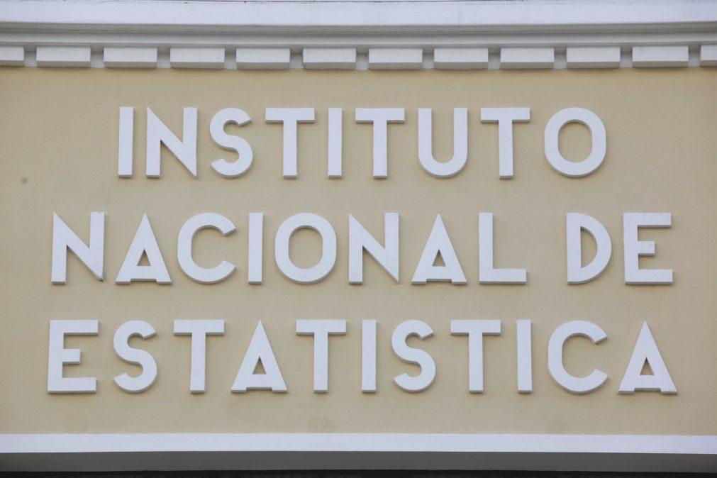 INE divulga hoje estimativa rápida da evolução do PIB no primeiro trimestre