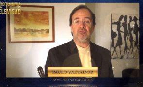 Paulo Salvador agradece nomeação para Troféus Impala de Televisão