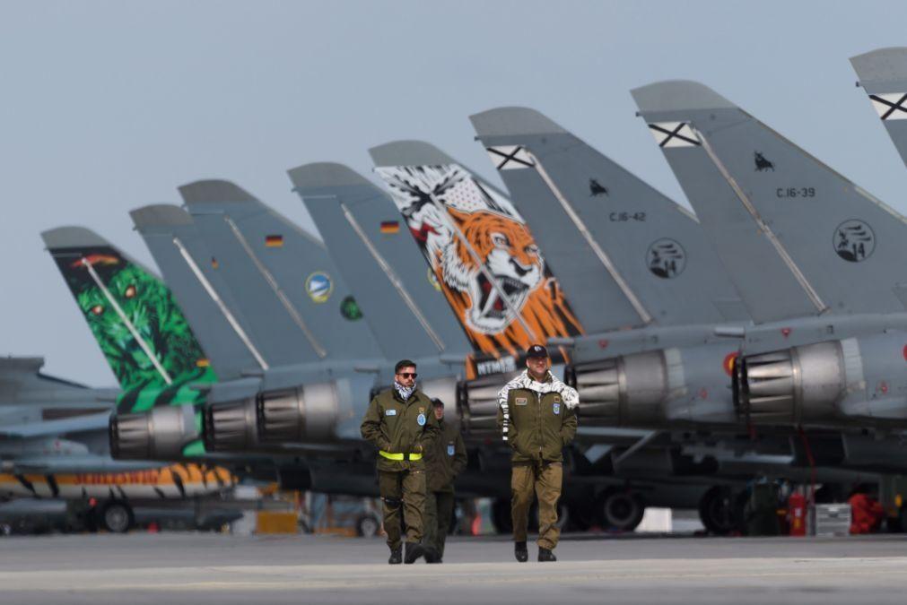 Exercício internacional NATO Tiger Meet realiza-se em maio na Base Aérea de Beja