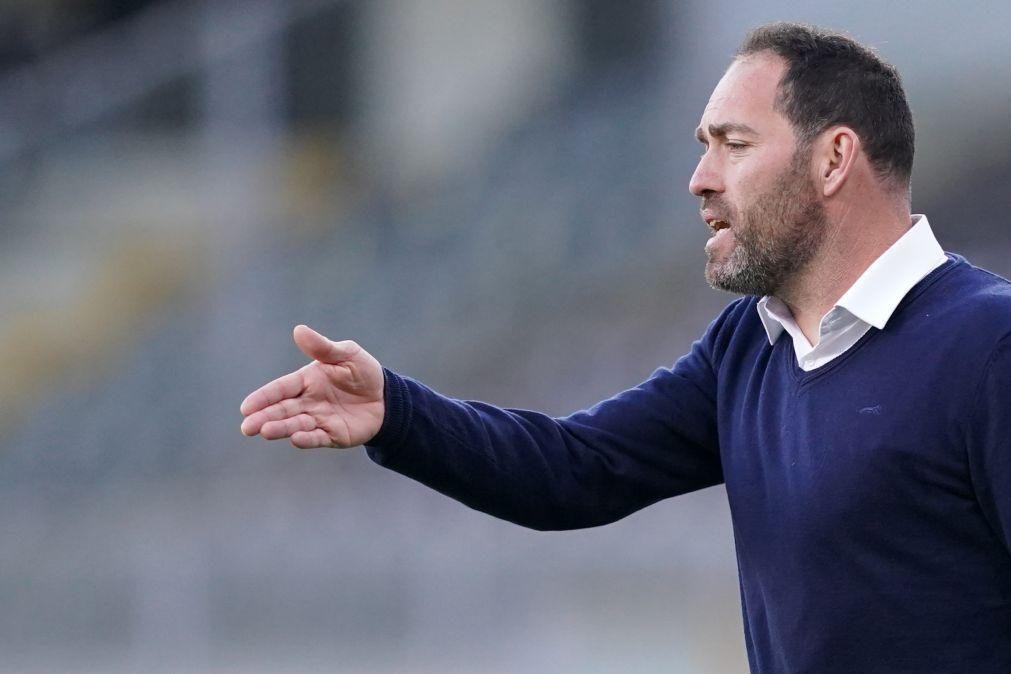 Técnico do Gil Vicente admite que somar pontos é a prioridade diante do Farense