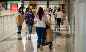 Número de compras atingiu na semana passada valores pré-pandemia