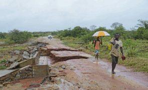 Sul de Moçambique sob alerta de vento e chuva forte