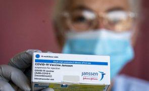 Covid-19: Vacina da Janssen começa a ser administrada nos próximos dias - `task force´