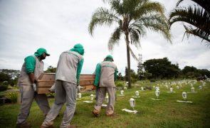 Covid-19: Mais 2.595 mortos e 68.333 casos em 24 horas no Brasil