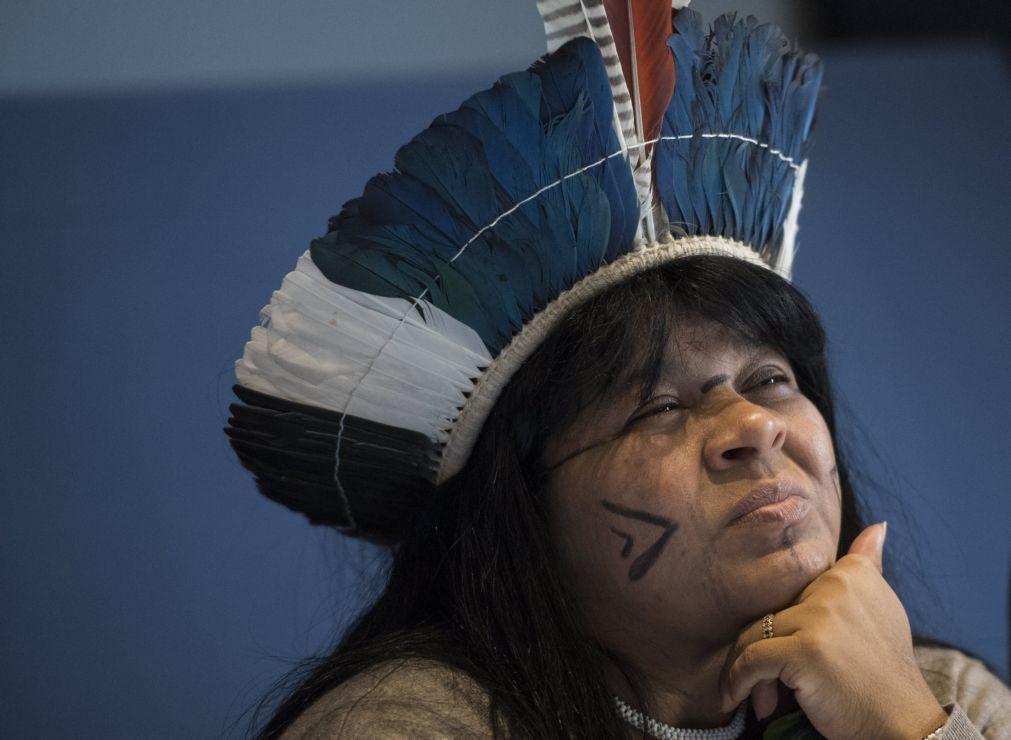 Líder indígena intimada a depor por difamação contra Governo de Bolsonaro