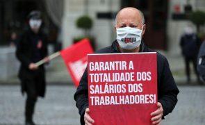 1.º de Maio: CGTP comemora na rua com pouca gente e UGT debate negociação coletiva