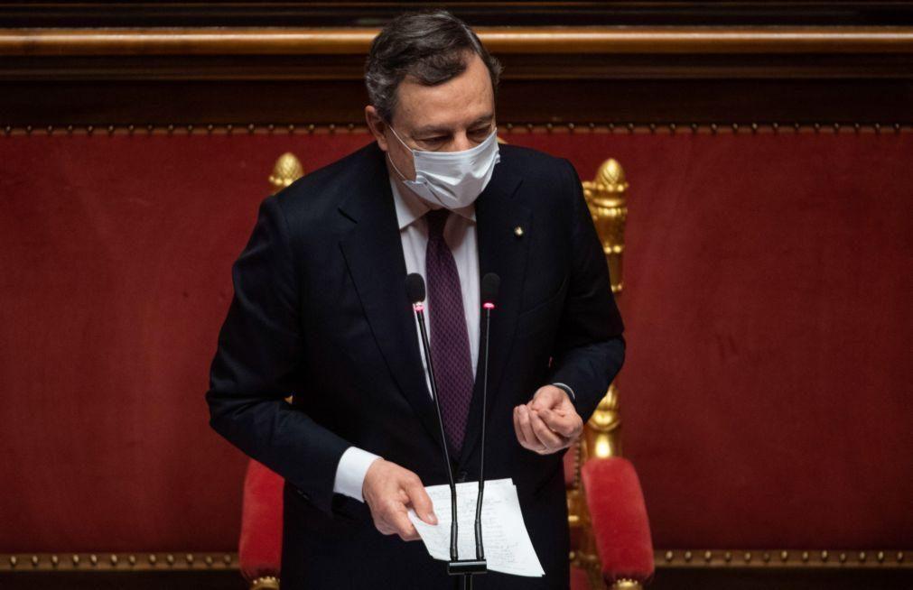 Roma entregou plano de recuperação a Bruxelas na sexta-feira