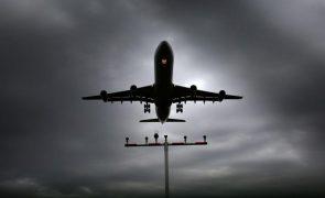Covid-19: Medidas restritivas do tráfego aéreo prolongadas até 16 de maio