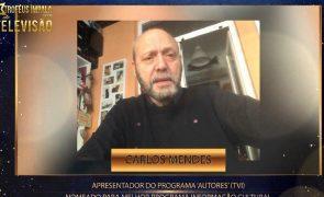 Troféus Impala de Televisão 2021: Carlos Mendes agradece nomeação