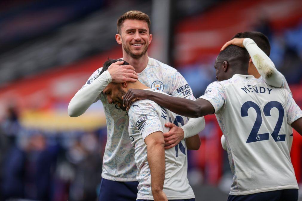 Manchester City vence e espera desaire do United para festejar o título [vídeo]