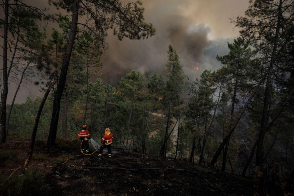 Ministro está a ultimar modelos de financiamento para bombeiros concorrerem a mais meios