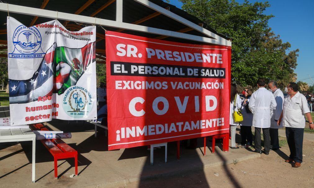 Covid-19: México com 261 mortos e 3.025 casos nas últimas 24 horas