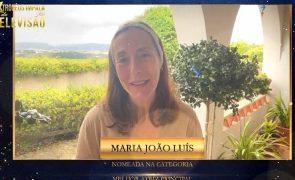 Troféus Impala de Televisão 2021: Maria João Luís agradece nomeação