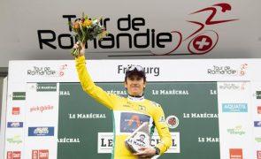 Geraint Thomas vence Volta à Romandia em bicicleta, Rui Costa foi 13.º