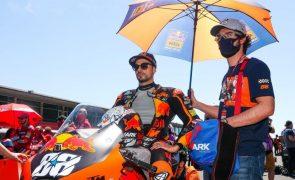 Miguel Oliveira 11.º no GP de Espanha de MotoGP em dia histórico em Jerez