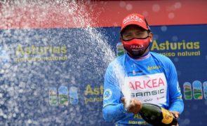 Quintana vence Volta às Astúrias, Nélson Oliveira termina na nona posição
