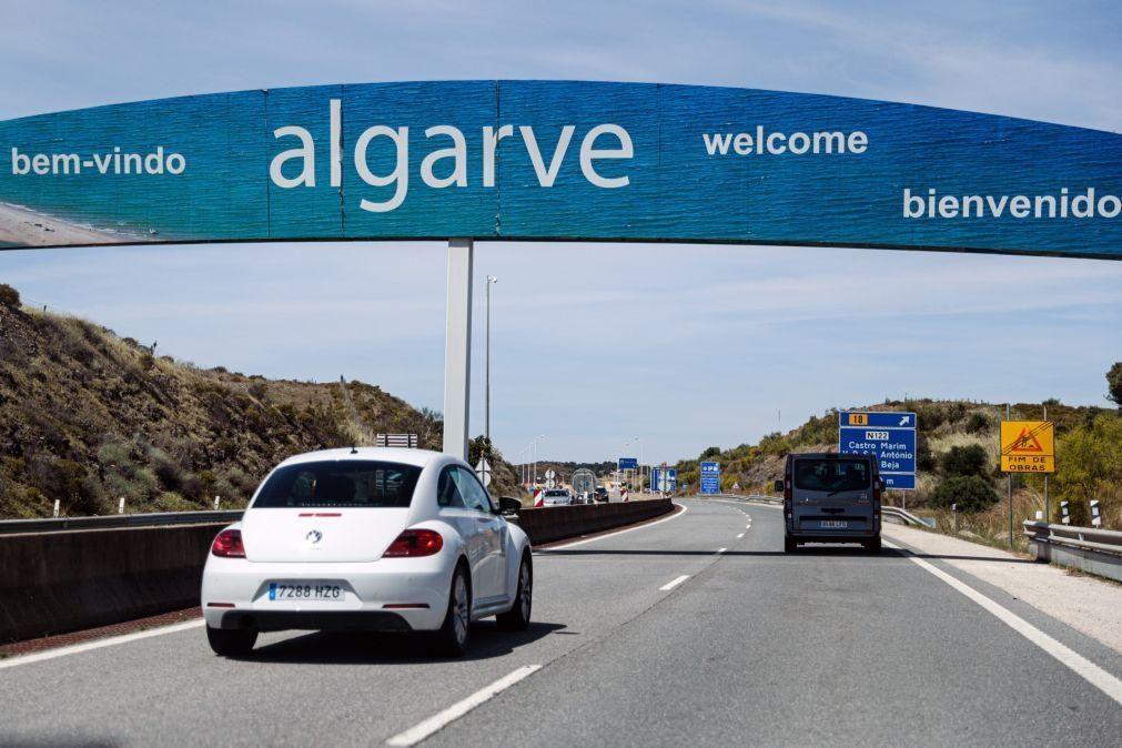 Covid-19: Mais de cinco mil carros atravessaram a fronteira no Algarve em dois dias