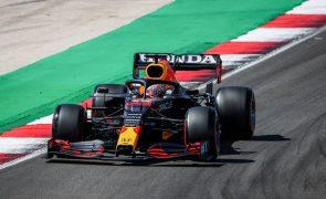 F1/Portugal: Max Verstappen tentou