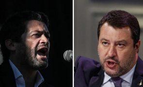 Líder da extrema-direita italiana marca presença em Congresso do Chega