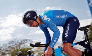 Movistar leva Nelson Oliveira para ajudar Marc Soler na Volta a Itália