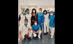 Joana Cruz celebra primeira batalha na luta contra cancro: «Vamos em frente»