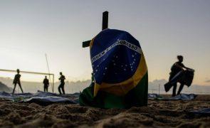 Covid-19: Brasil com 983 mortos e 24.619 infetados nas últimas 24 horas