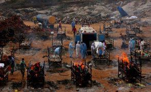 Covid-19: Índia ultrapassa os 20 milhões de casos desde o início da pandemia